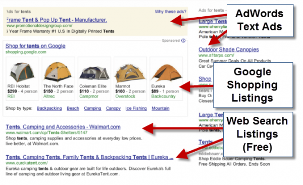 New Google Shopping Appearance