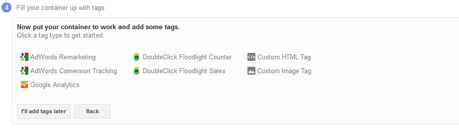 Tag manager Tags Image