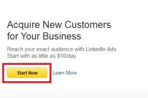LinkedIn Ads Start Now Image